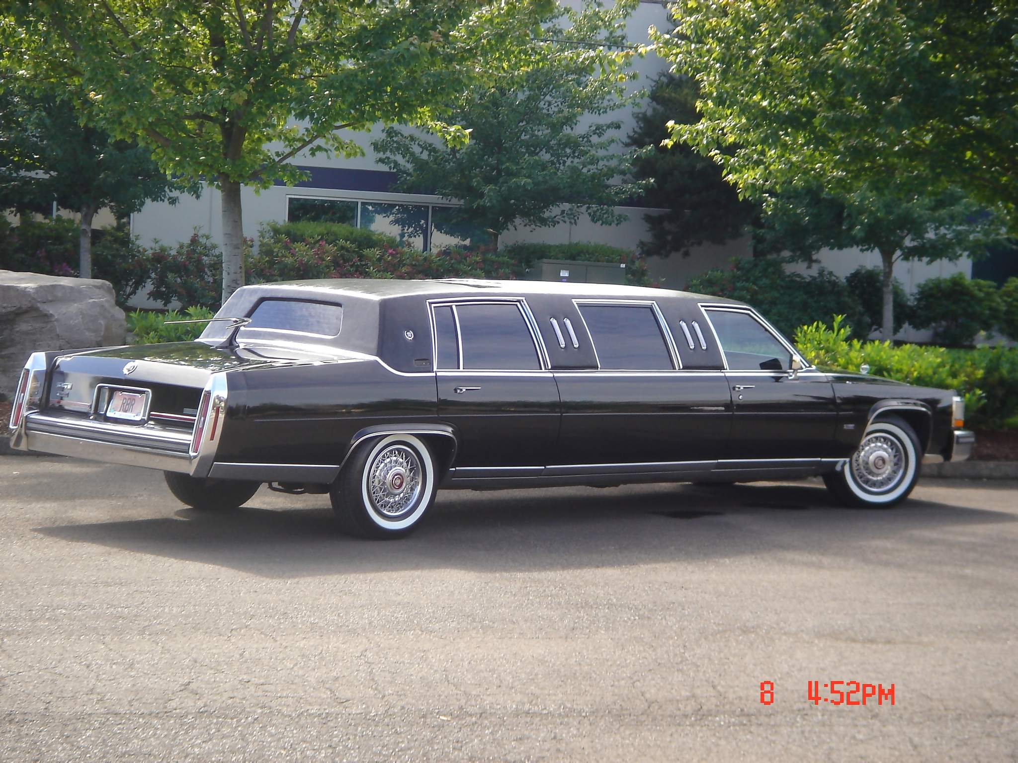 """Old Limos For Sale >> 1989 Cadillac Brougham Limousine Van Cleef Edition(70""""stretch)"""