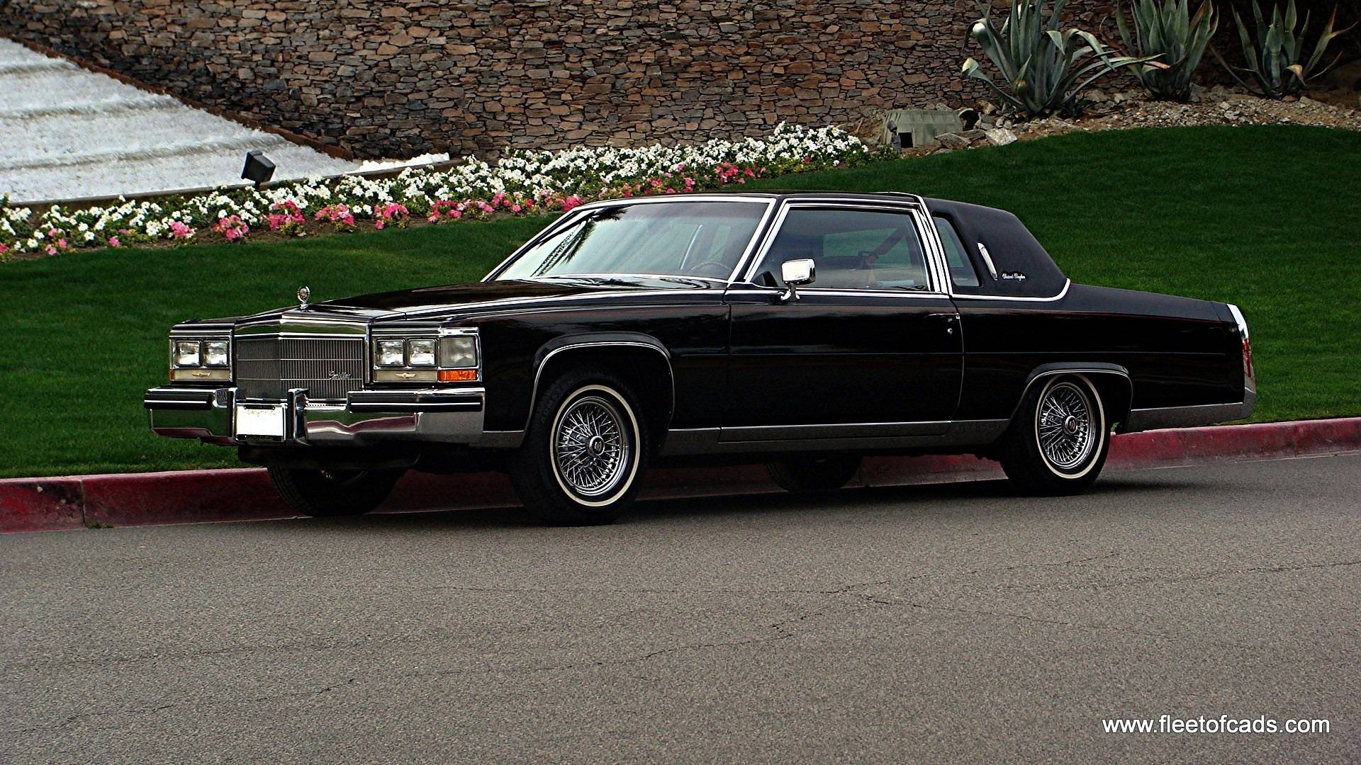 1984 Cadillac Fleetwood Brougham Coupe (39k miles)