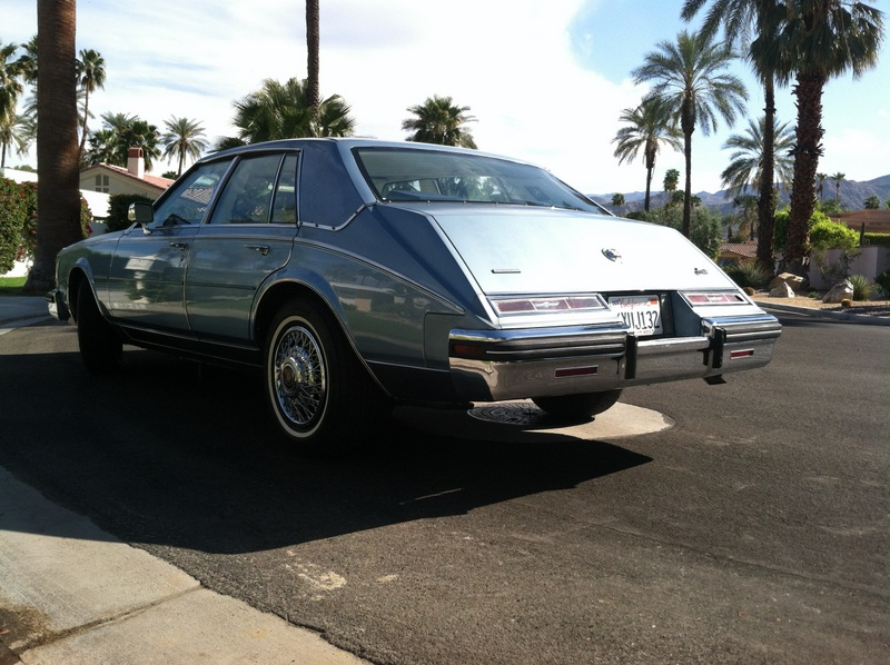 1985 cadillac seville with 58k original miles light blue with white