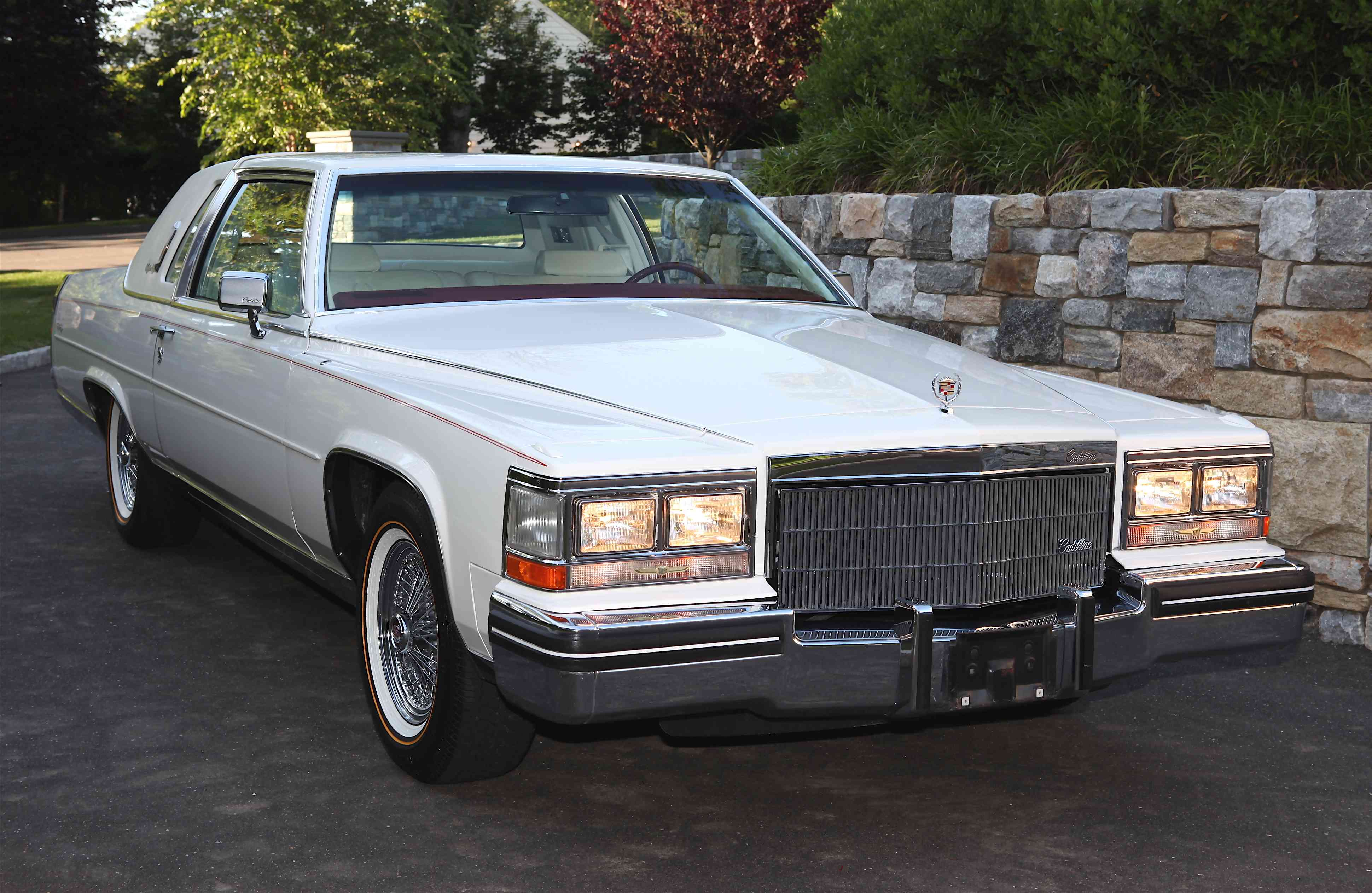 Joseph O'Connell's 1985 Cadillac Fleetwood Brougham Coupe with only