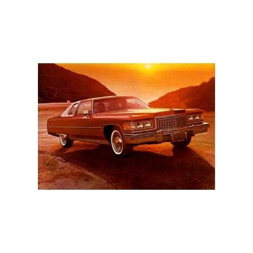 1976 Cadillac Coupe Deville 54k Original Miles Owned By